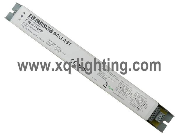 4x18w electronic ballast for louver lighting
