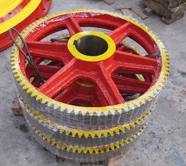 Large Module Tooth Pinion Gear used in cement lines