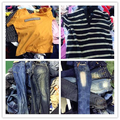 mixed used clothing bales second hand clothes