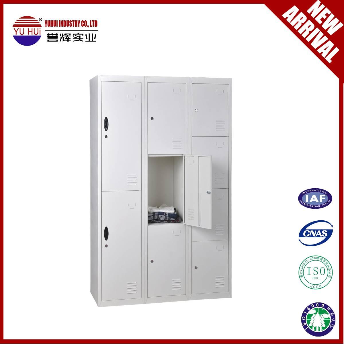 cheap single 2 3 4 door metal locker steel wardrobe for sale