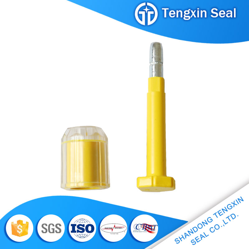 Waterproof liquid material electronic bolt security seals