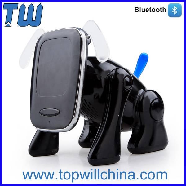 US High-Tech Nano Material Mobile Frame Cute Cartoon Dog Bluetooth Speaker