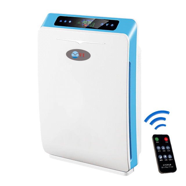 2020 new smart home air purifier with hepa filter