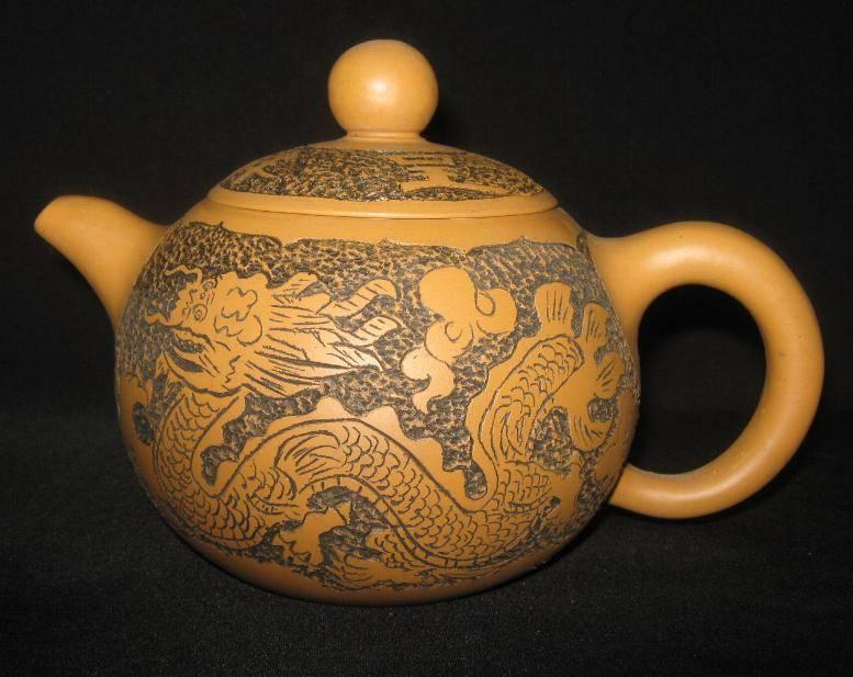 Yixing clay tea pot