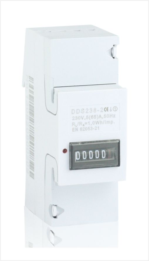 Single phase din rail energy meter, Type DDS238-2