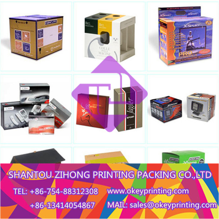 printing color shipping carton