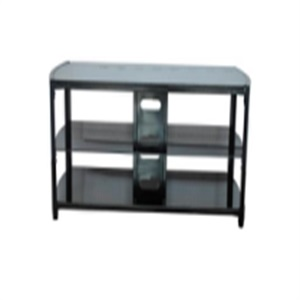 gray style glass tv stand