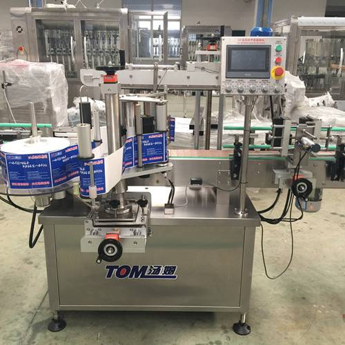 Tom Full automatic double sides labeling machine
