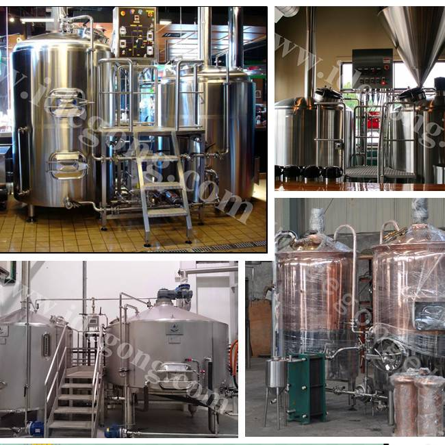 300L micro beer brewing equipment made in china