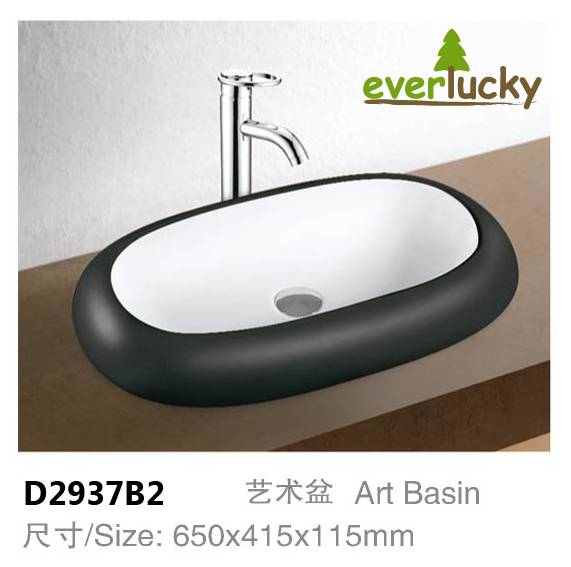 Ceramic Art Basin With Excellent Quality And Price D2937B2