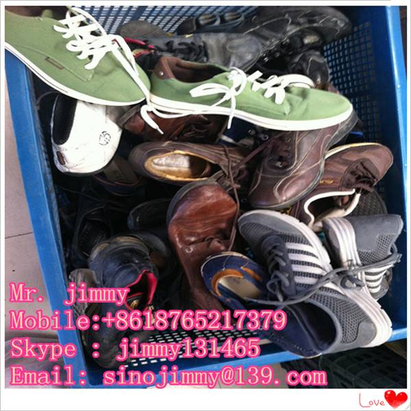wholesale high quality good sorted used shoes