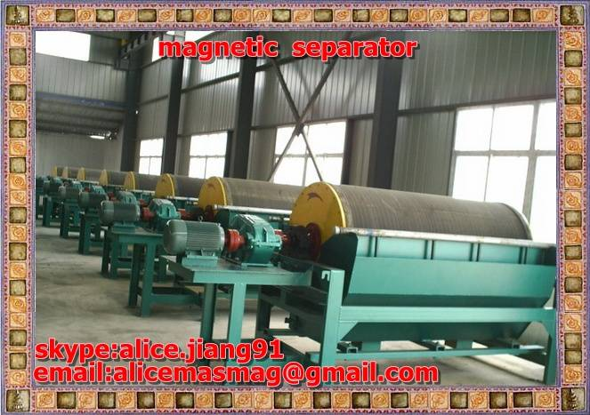 YCMC Wet Pulse Magnetic Separator  for  iron  sand