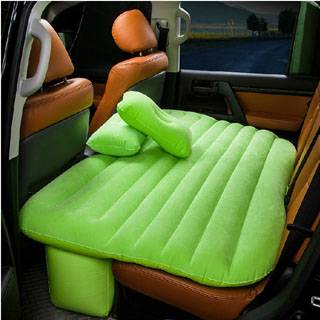 Lovely inflatable back seat bed for relaxing