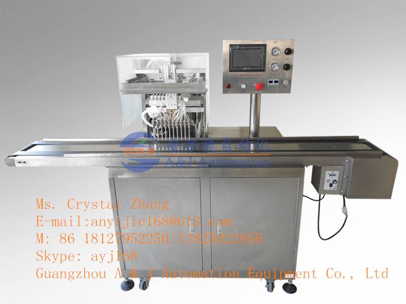 AYJ-JY10 10 Nozzles Automatic Filling &Sparying Machine