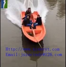china supply super plastic new material rowing boat