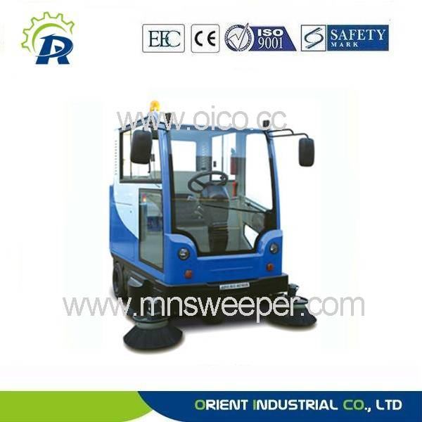 All-closed sweeper & sweeping car