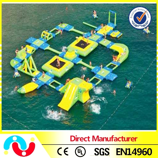 PVC Inflatable Floating Water Park, Aqua Park Water Playing