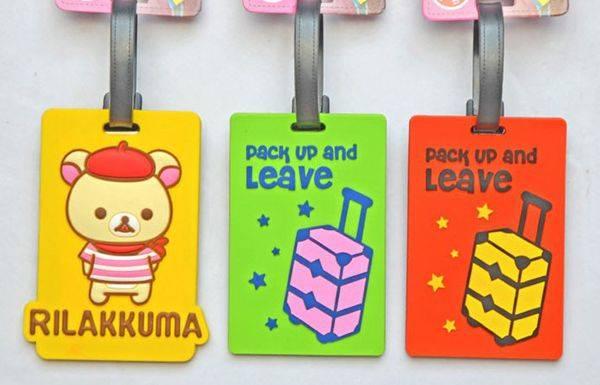 Pvc luggage hang tag