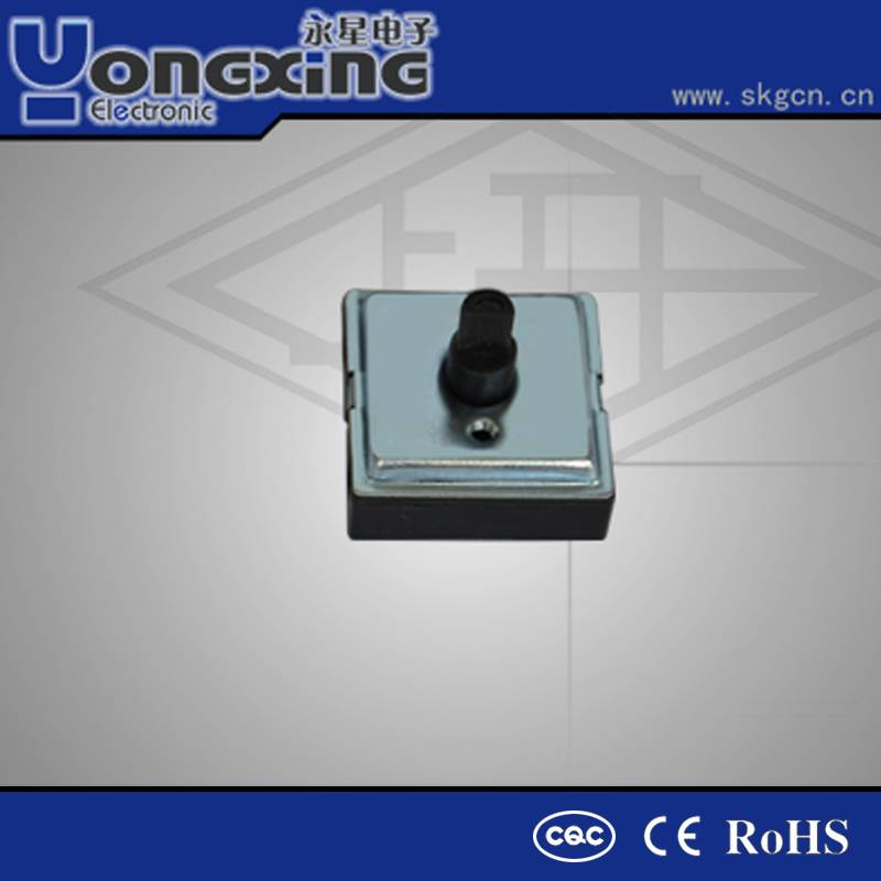 CQC grade 1 white domestic application rotary selector switch