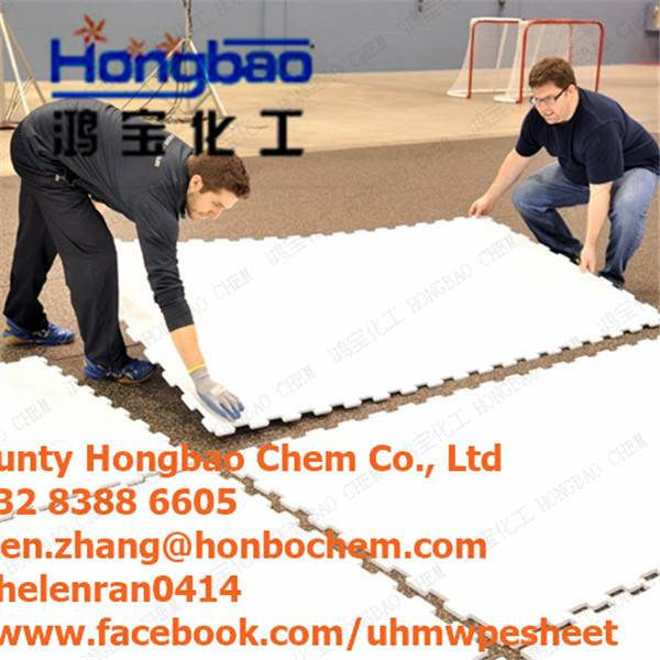 synthetic ice rink floor panels and dasher boards