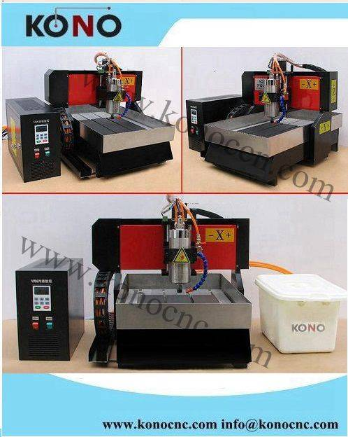china mini cnc router XT310 with 2.2KW spindle for wood stone metal