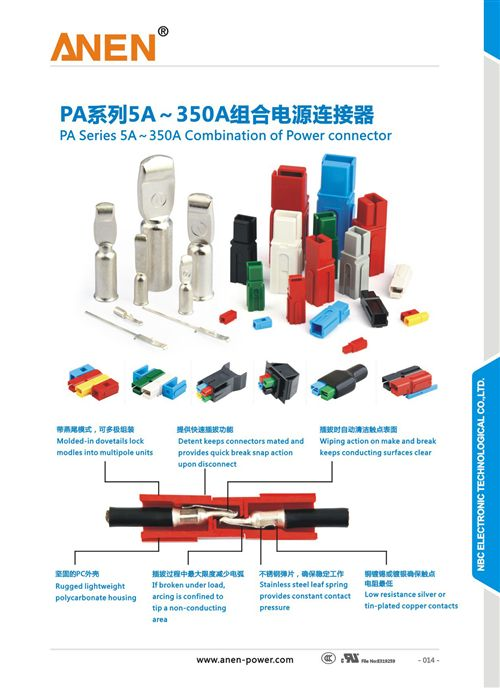 Anen 45A 600V Power Connector