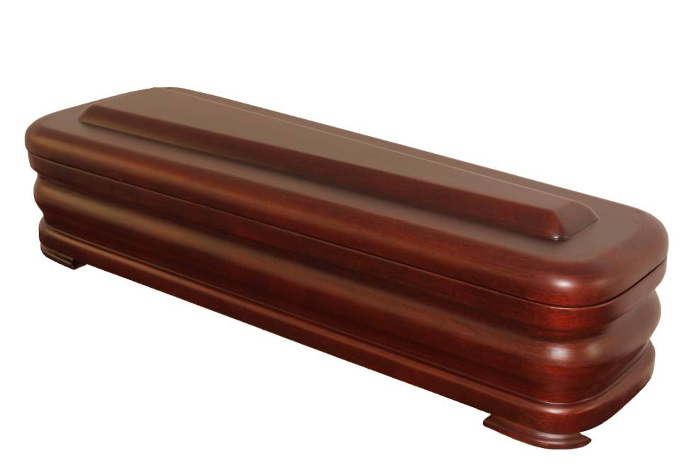 Spanish Style-Wood Coffin (5500S-N)