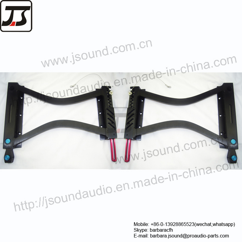 Loudspeaker Line Array Rigging of Audio Sound hardware EV style