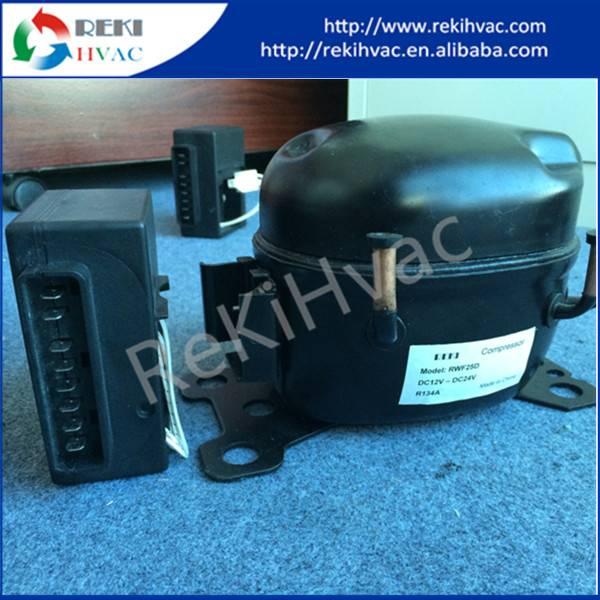 BLDC 12/24VDC Piston Mini Compressor RWF35D