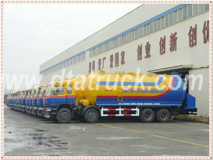 DTA tanker Bitumen /asphalt /crude oil tank truck