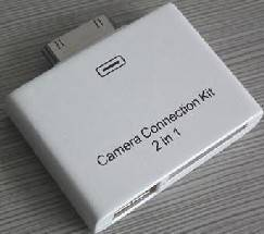 iPad 2in1camera connection kit/card reader