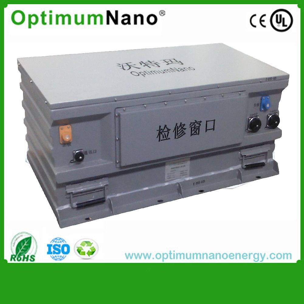 Patent PCB packed 583v 140ah lifepo4 car battery