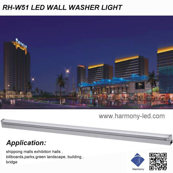 5050/48PCS High Quality Warm White LED Wall Washer