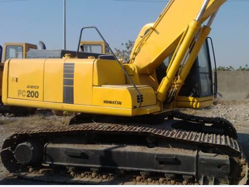 Used Komatsu pc200-6 Crawler Excavator for sale