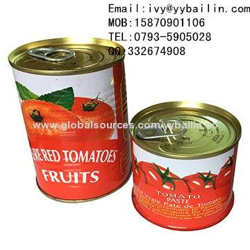 Factory Supply Canned Tomato Paste With Double Concentrated