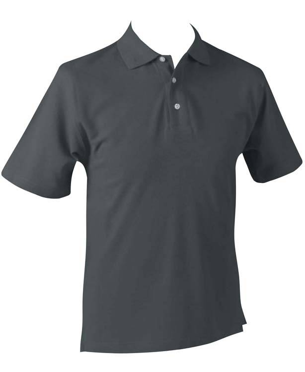 Men's solid polo shirts