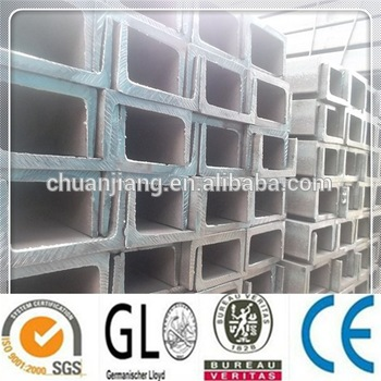 SS400 hot rolled channel steel from factory stock with competitive price