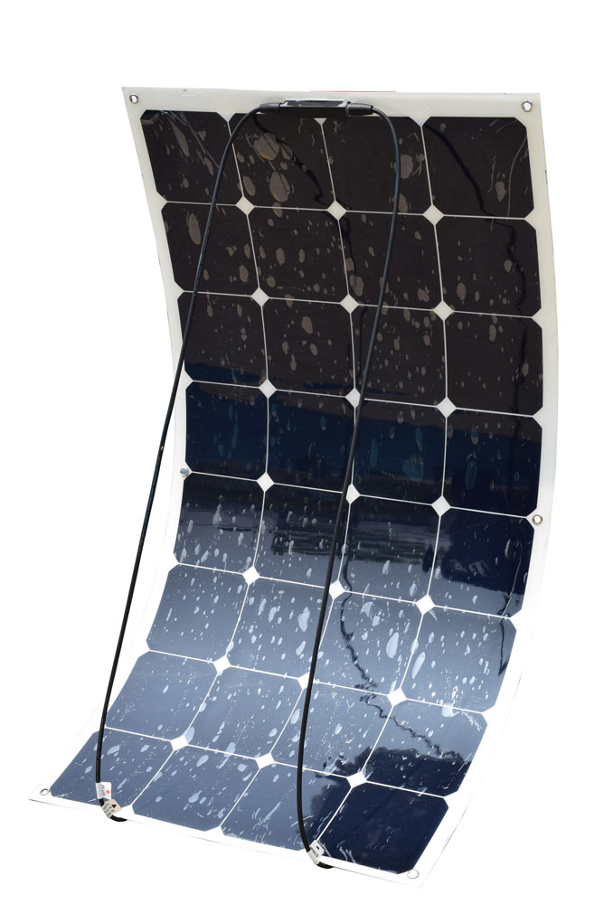 100W FLEXIBLE SOLAR PANEL CAN BE USED ON RV AND BOAT