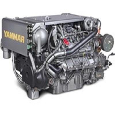 YANMAR 8LV-370 Marine Diesel Engine 370hp
