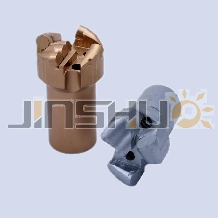 Hydroelectric drill bits and lateral wing blade drill bits