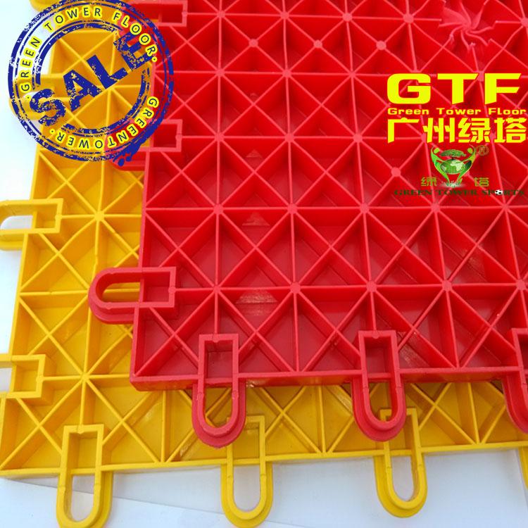 Plastic interlocking Flooring for Outdoor playground, outdoor plastic flooring sheets,