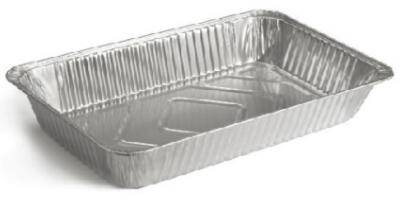 Full size aluminum foil pan 52832582mm
