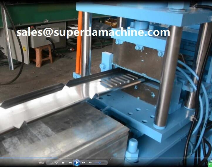 Superda Electrical enclosure roll forming machine