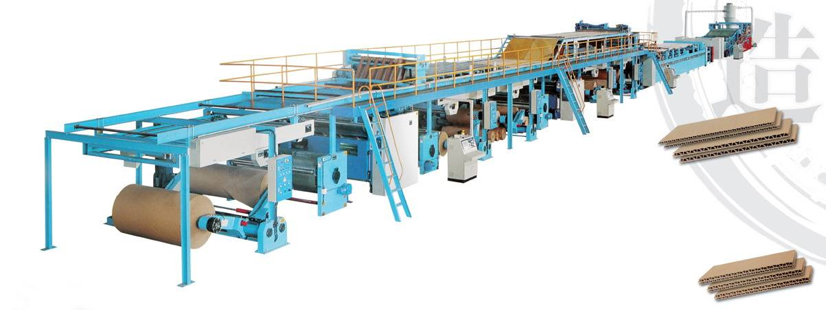3PLY CORRUGATED  BOARD PRODUCTION LINE