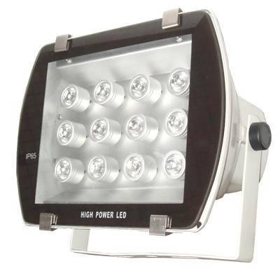 12*3W high power LED floodlight