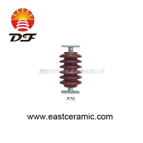 P-70  porcelain post insulator