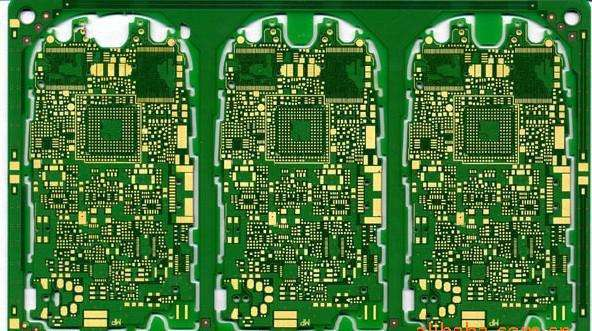 HDI PCB with blind and burried via hole
