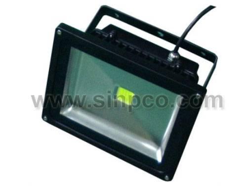 Outdoor LED Floodlights waterproof IP65 30W COB LED Epistar/BridgeLux