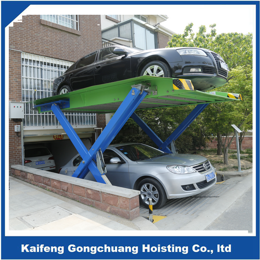 half underground garage mechanical smart traversing parking lifting equipment