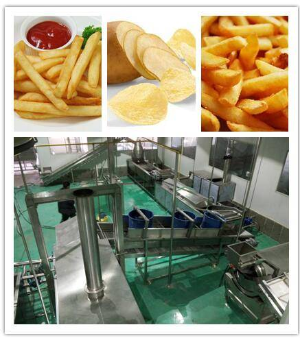 superior quality potato chips production line